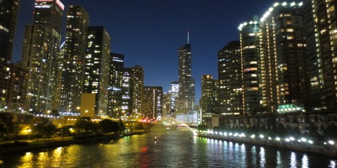Skyline di Chicago