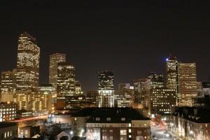Skyline di Denver