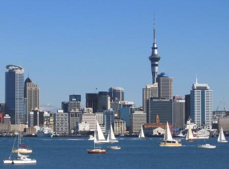 Veduta di Auckland City