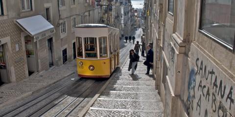 Per le strade di Lisbona