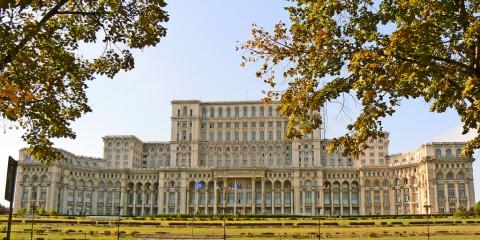 Palazzo del Parlamento a Bucarest