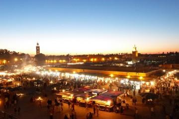 Piazza Jamaa el Fna di Marrakech