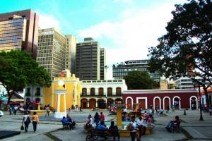 Plaza El Venezolano, Caracas