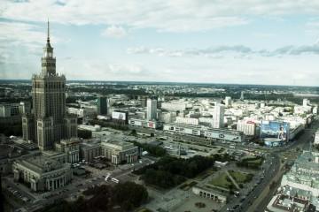 Varsavia dall'alto