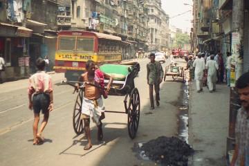 Strade di Calcutta