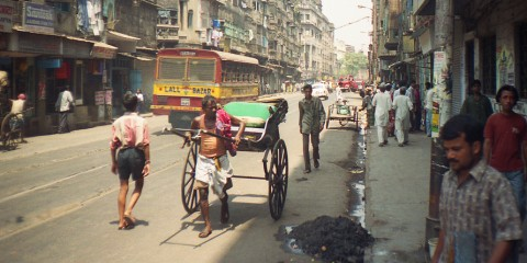 Strade di Calcutta