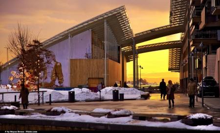 Oslo al tramonto