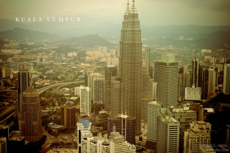 Skyline di Kuala Lumpur