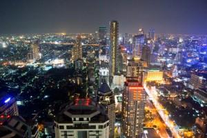 Panorama di Bangkok