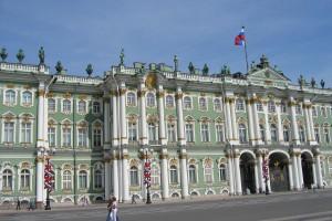 Palazzo d'Inverno e Museo Ermitage di San Pietroburgo