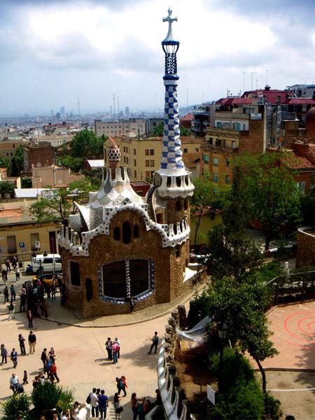 Parc Güell di Antoni Gaudì