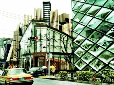 Omotesando, la via dell'architettura. Tokyo By: Red-made