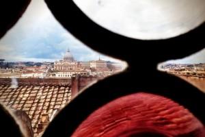 Roma, veduta di San Pietro