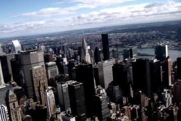 Panorama di New York dall'Empire State Building
